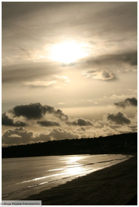 Dawlish Warren Sun In Autumn