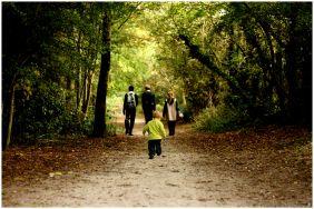 Children in autumn