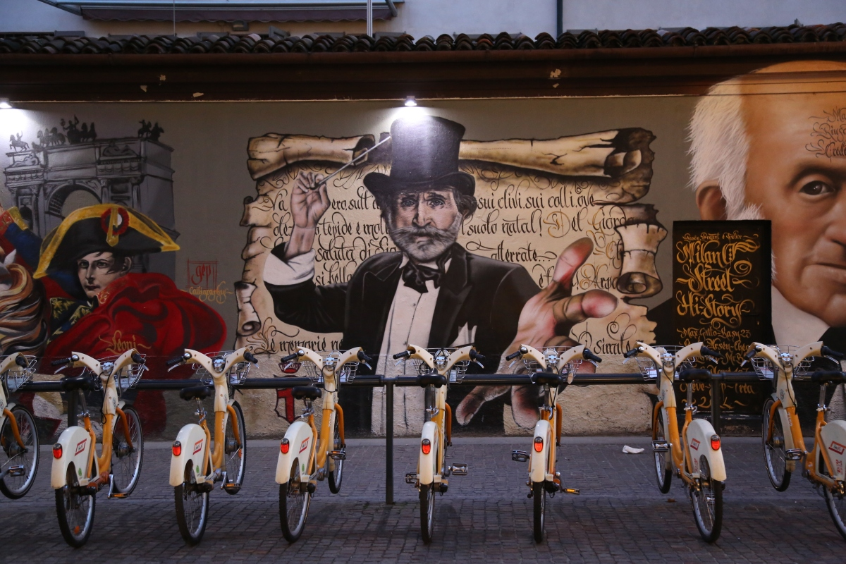 Photo-essays from Milan (1): Street & Street Art